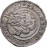 Malta 4 Tari Luis Mendes de Vasconcellos 1622 KM# 39 S IOAN BAP ORA PRO N 1677 MO NO coin reverse