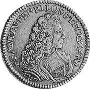 Malta 4 Zecchini (Ramon Perellos y Roccaful) KM# 150 F RAIMIN PERELLOS ET ROCCAFVL coin obverse