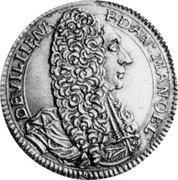 Malta 4 Zecchini (Antonio Manoel de Vilhena) KM# 184 DEVILHENA F D AN MANOEL coin obverse