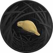 Australia 5 Dollars Echoes of Australian Fauna - Night Parrot 2019 NIGHT PARROT coin reverse