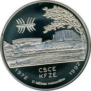 Finland 5 ECU Jean Sibelius 1992 UNC X# 1 CSCE KFZE EL LAILLINEN MAKSUVÄLINE coin reverse