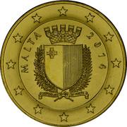 Malta 5 Euro First World War Centenary 2014 KM# 161 MALTA 2014 REPUBBLIKA TA' MALTA coin obverse