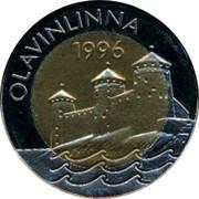 Finland 5 Euro Olavinlinna 1996 UNC X# 20 OLAVINLINNA 1996 coin reverse