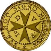 Malta 5 Euro Patakka 2016 HOC SIGNO MILITAMVS D V F Io coin reverse