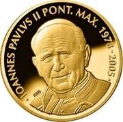 Malta 5 Euro Pope John Paul II - 10th Anniversary of the Death 2015 IOANNES PAVLVS II PONT. MAX. 1978-2005 NGB coin reverse