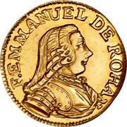 Malta 5 Scudi Emmanuel de Rohan 1779 KM# 318 F EMMANUEL DE ROHAN coin obverse