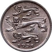 Estonia 5 Senti 1931 KM# 11 Reform Coinage 1931 coin obverse