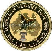 Australia 50 Dollars (Tribute to Liberty Bell) KM# 692a coin reverse