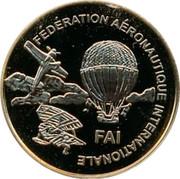 Finland 50 Euro First World Air Games Turkey 1997 Proof FEDERATION AERONAUTIQUE INTERNATIONALE FAI coin reverse