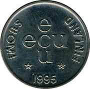 Finland ECU Moneta 1995 UNC SUOMI FINLAND E ECU U 1995 coin obverse