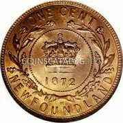 Very Fine 1896 Canada Large 1 Cent