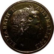 Australia One Dollar AFL Premiers 2012 In PNC only KM# 2022a ELIZABETH II AUSTRALIA 2012 IRB coin obverse