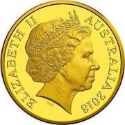 Australia One Dollar Armistice 100 Years On 2018 ELIZABETH II AUSTRALIA 2018 coin obverse
