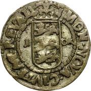 Estonia Ore Christina 1650 KM# 6 MON ∙ NOVA ∙ CIVITAT ∙ REVAL 1 - OR coin reverse