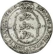 Estonia Riksdaler Christina 1652 GP KM# 8.2 NVMMVS ∙ ARGENT : CIVITATIS ∙ REVALIENSIS 16 - 52 G - P coin reverse