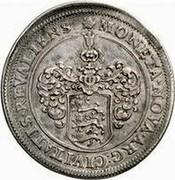 Estonia Riksdaler Riksdaler - Carl XI 1664 KM# 19 MONETA ∙ NOVA ∙ ARG : CIVITATIS : REVALIENS coin reverse