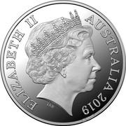 Australia Thirty Dollars Year of the Pig (豬) 2019 Proof ELIZABETH II AUSTRALIAN 2019 IRB coin obverse