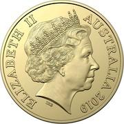 Australia Two Dollars 100 Years Repatriation 2019  ELIZABETH II AUSTRALIA 2019 IRB coin obverse