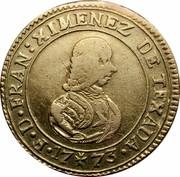Malta X Scudi Francisco Ximenez 1773 KM# 288 F∙D∙FRAN:XIMENEZ DE TEXADA∙ 17 73 coin obverse