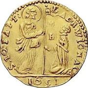 Malta Zecchino Adrien de Wignacourt 1691 KM# 123 S∙IO:BAPT: F ADR:WICNAC H 1691 coin obverse