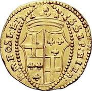 Malta Zecchino Adrien de Wignacourt 1691 KM# 123 M.M.HOSP:ET S∙SEP:HIER: coin reverse