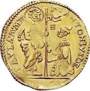 Malta Zecchino Antoine de Paule (1623-1636) KM# 18 F∙ANTONIUS DE PAULA∙M∙M∙H coin obverse