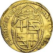Malta Zecchino Gregorio Carafa (1680-1690) KM# 20 DE PRINC∙ROCELL M∙M∙AQ∙??T∙ET∙S∙S∙H∙ coin reverse