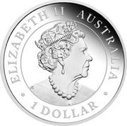 Australia 1 Dollar Australian Emus 2019 Proof ELIZABETH II AUSTRALIA 1 DOLLAR coin obverse