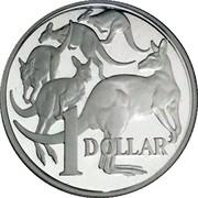 Australia 1 Dollar Masterpiecess in Silver 2004 KM# 733.1a 1 DOLLAR coin reverse