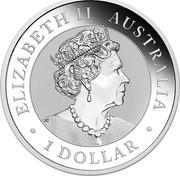 Australia 1 Dollar Nugget - Welcome Stranger 1869 2019 P BU ELIZABETH II AUSTRALIA 1 DOLLAR JC coin obverse