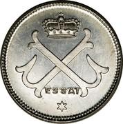 Luxembourg 10 Ces Grand-Duche de Luxembourg 1917  ESSAI coin obverse