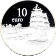 Finland 10 Euro 75 Years of Aland Self-Government 1997 X# 6 10 EURO coin obverse