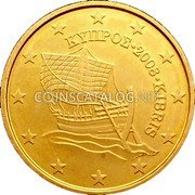 Cyprus 10 Euro Cent 2008 KM# 81 Euro Coinage coin obverse
