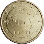 Estonia 10 Euro Cent 2011 KM# 64 Euro Coinage 2011 EESTI coin obverse