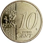 Estonia 10 Euro Cent 2011 KM# 64 Euro Coinage 10 LL EURO CENT coin reverse