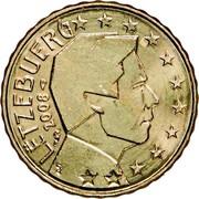 Luxembourg 10 Euro Cent Sint Servaasbrug 2008 (a) Proof KM# 89 LËTZEBUERG 2018 GC coin obverse