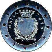 Malta 10 Euro Centenary of the Sette Giugno Riots 2019 REPUBBLIKA TA' MALTA MALTA 2019 coin obverse