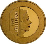 Luxembourg 10 Euro Fox 2011 Proof KM# 122 2006 LËTZEBUERG coin obverse