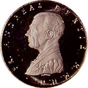 Malta 10 Grani Assistance to the Needy 1996 Proof X# 181 FR. ANDREAS BERTIE M. M. H. H. coin obverse