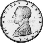 Malta 10 Grani (Crowned and Mantled Arms) X# 136 FR. ANDREAS BERTIE M. M. H. H. coin obverse