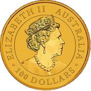 Australia 100 Dollars Nugget - Welcome Stranger 1869 2019 P BU ELIZABETH II AUSTRALIA 100 DOLLARS JC coin obverse