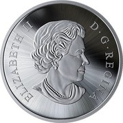 Canada 125 Dollars The Canadian Maple Masters Collection 2019 ELIZABETH II D • G • REGINA coin obverse