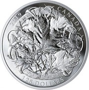 Canada 125 Dollars The Canadian Maple Masters Collection 2019 2019 CANADA 125 DOLLARS coin reverse