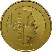 Luxembourg 2.50 Euro (20 Jahre Luxemburger Zentralbank)  coin obverse