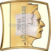 Luxembourg 2,50 Euro Museum of Modern Art 2016  Proof-like 2016 LËTZEBUERG GC coin obverse