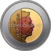 Luxembourg 2.50 Euro (Ville de Luxembourg) 2019 / LËTZEBUERG CG coin obverse