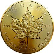Canada 2,500 Dollars 40th Anniversary of the GML 2019 CANADA 9999 9999 FINE GOLD 1 KG OR PUR coin reverse