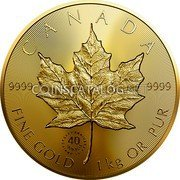 Canada 2,500 Dollars (40th Anniversary of the GML) CANADA 9999 9999 FINE GOLD 1 KG OR PUR coin reverse