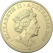 Australia 2 Dollars Aboriginal Elder (6th portrait) 2020 ELIZABETH II AUSTRALIA 2019 JC coin obverse