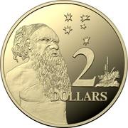 Australia 2 Dollars Aboriginal Elder (6th portrait) 2020 2 DOLLARS coin reverse